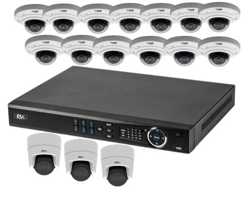 Комплект видеонаблюдения Премиум