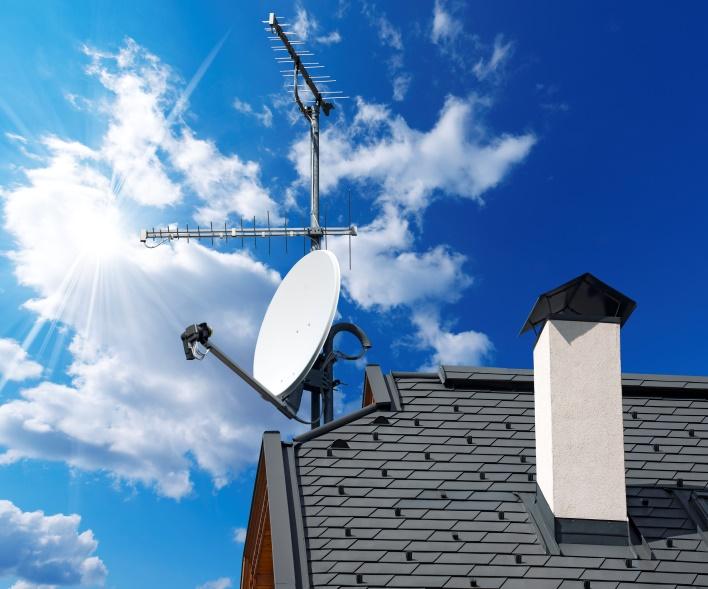 Спутниковое телевещание
